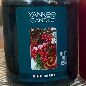 Pine Berry 22 Oz Jar Yankee Candle